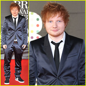 Ed Sheeran: BRIT Awards 2013
