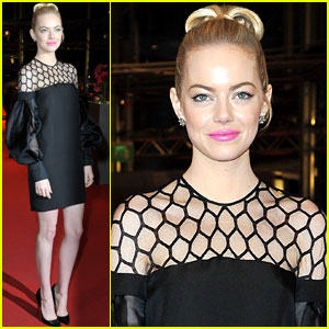 Emma Stone: 'The Croods' Berlin Premiere