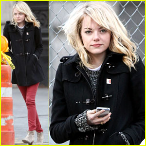 Emma Stone: Tribeca Lunch Stop!