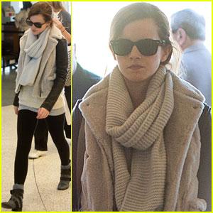 Emma Watson: LAX Departure