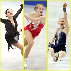 Gracie Gold & Christina Gao: ISU Four Continents Figure Skating Championships in Japan