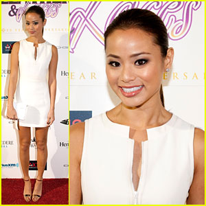 Jamie Chung: Leather & Laces Party Host!