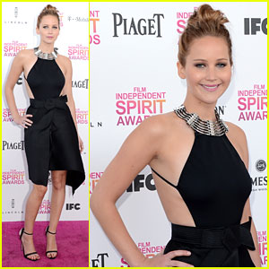 Jennifer Lawrence: Independent Spirit Awards 2013