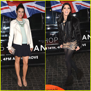 Jessica Lowndes &#038; Gia Mantegna: Topshop Topman LA Opening Party
