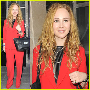 Juno Temple Talks Princess Margaret Role for 'Girls Night Out'