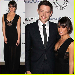 Lea Michele & Cory Monteith: Inaugural PaleyFest Icon Award Pair!