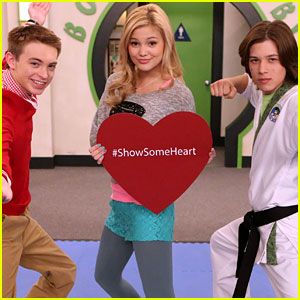 Olivia Holt & More Disney Stars 'Show Some Heart' (Exclusive Photos!)