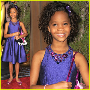 Quvenzhane Wallis: Oscar Nominees Luncheon 2013