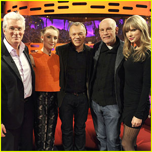 Taylor Swift & Saoirse Ronan: 'Graham Norton Show' Guests!