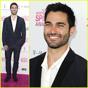 Tyler Hoechlin: Independent Spirit Awards 2013