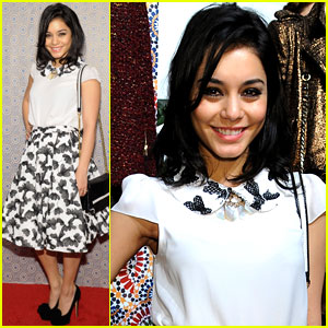Vanessa Hudgens: Alice + Olivia Fashion Show!