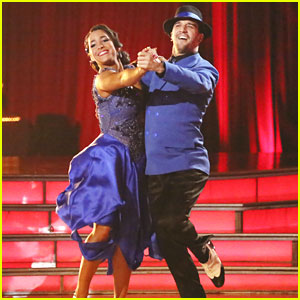 Aly Raisman & Mark Ballas: Quickstep on 'Dancing With The Stars' -- WATCH NOW