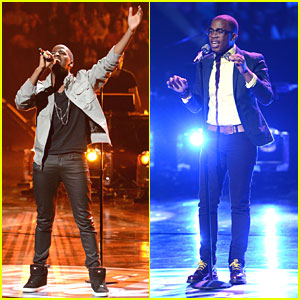 American Idol: WATCH Cortez Shaw & Burnell Taylor Sudden Death Performances!