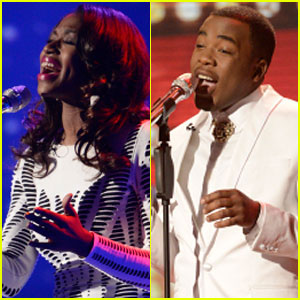 American Idol Top 8: Burnell Taylor & Amber Holcomb Perform - Watch Now!