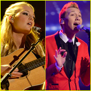 American Idol Top 8: Janelle Arthur & Devin Velez Perform - Watch Now!