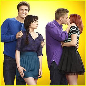 Ashley Rickards & Brett Davern: 'Awkward' Season Three Pics!