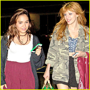 Bella Thorne & Stella Hudgens: Urban Outfitters Pair!