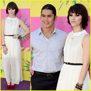 Booboo & Fivel Stewart - Kids� Choice Awards 2013 Red Carpet