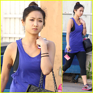 Brenda Song: Friday Fitness Fun