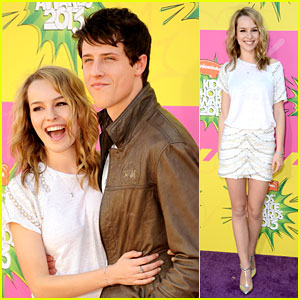 Bridgit Mendler & Shane Harper - Kids Choice Awards 2013