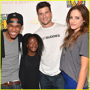 Carly Chaikin: Day of Beauty with Best Buddies