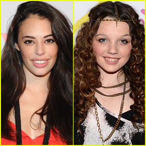 Chloe Bridges & Stefania Owen: 'The Carrie Diaries' On-Set Interviews!