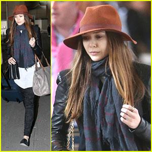 Elizabeth Olsen: Paris Arrival