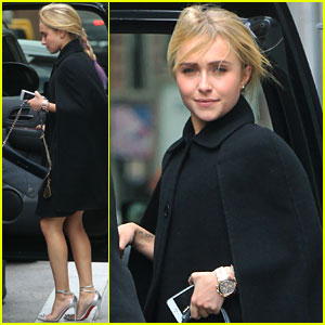 Hayden Panettiere: NYC Hotel Exit