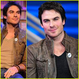 Ian Somerhalder: 'Big Morning Buzz' Stop!