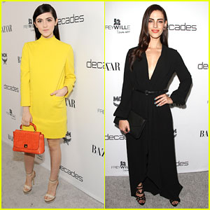 Isabelle Fuhrman & Jessica Lowndes: 'Dukes of Melrose' Party Pair