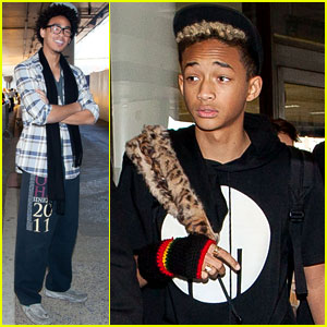 Jaden Smith: LAX Arrival With Brother Trey!