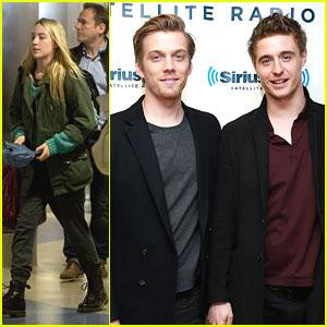Jake Abel & Max Irons Get 'Sirius'; Saoirse Ronan Lands in Los Angeles
