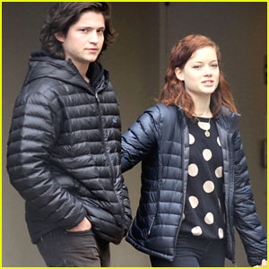 Thomas McDonell &#038; Jane Levy: Vancouver Couple