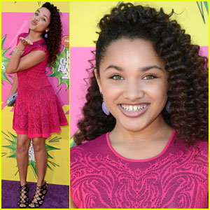 Jaylen Barron - Kids' Choice Awards 2013 Red Carpet