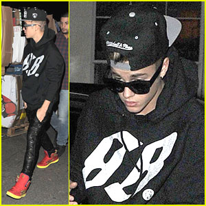 Justin Bieber: Mint Leaf Dinner Before Movies