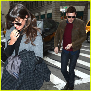Lea Michele &#038; Cory Monteith: Cookshop Couple
