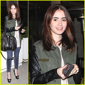 Lily Collins: 'Mortal Instruments' Heading to Comic Con!