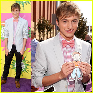 Lucas Cruikshank - Kids Choice Awards 2013 Red Carpet