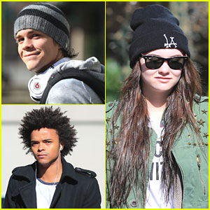 Johnny Simmons & Madeline Carroll: 'Blink' Set Siblings
