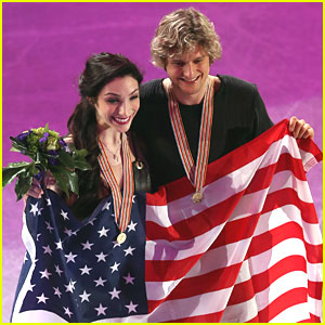 Meryl Davis & Charlie White Win Gold at World Skating Championships!