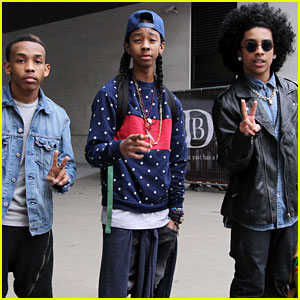 Mindless Behavior: BBC Radio 1 Stop