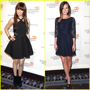 Christina Grimmie & Samantha Droke: Alliance For Children's Rights Dinner Duo