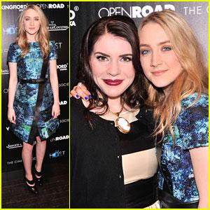 Saoirse Ronan: 'The Host' NYC Screening