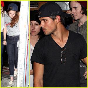 Taylor Lautner: Troubadour with Kristen Stewart!