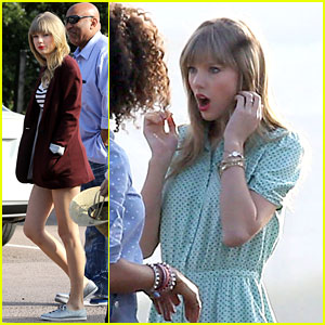 Taylor Swift: Rooftop Photoshoot Fun!
