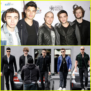 The Wanted: 'Stars & Strikes' Attendees!