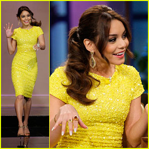 Vanessa Hudgens: Lovely For Leno
