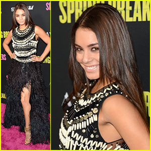 Vanessa Hudgens: 'Spring Breakers' Premiere & Interview!