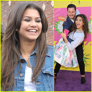 Practice Before Kids' Choice Awards 2013 | Zendaya | Just Jared Jr