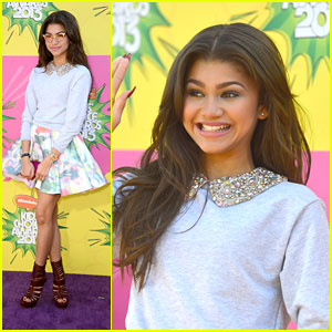 Zendaya - Kids' Choice Awards 2013 Red Carpet